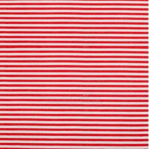 Rayado rojo y blanco